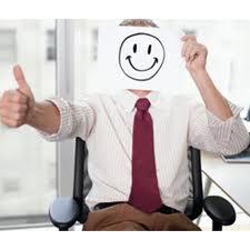 empleado feliz