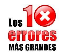 10 errores
